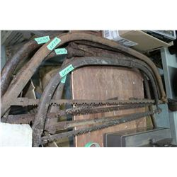 5 Swede Saws or Bow Saws