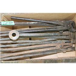 Box of Blacksmithing Tools