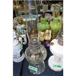 Washington Drape Aladdin Mantle Lamp - Clear Font