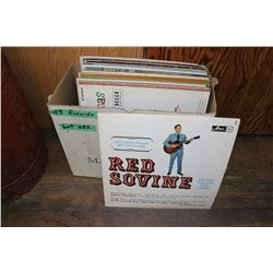 Box of 28 - 33 RPM Albums