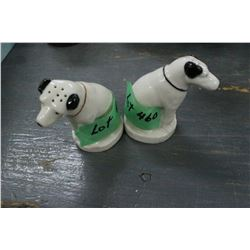 RCA Victor Dog Salt & Pepper Shakers