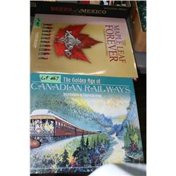 Canadian Railways & Maple Leaf Forever Books