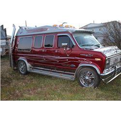 "1978 Custom Ford Van-Custom Paint & Interior, Boom Box Stereo, All LED Lighting,Dual 4"" Exhaust,V8 A"
