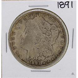 1891 $1 Morgan Silver Dollar Coin