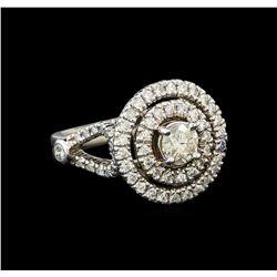 14KT White Gold 1.48 ctw Diamond Ring
