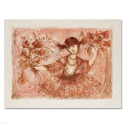 Jennifer Mary Taking a Bow at the Bolshoi by Hibel (1917-2014)