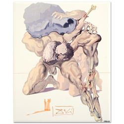 The Avaricious and the Prodigal by Dali (1904-1989)