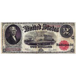 1917 $2 Legal Tender Note