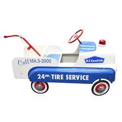 1948 Original BF Goodrich 24 Hour Tire Service Wagon Pedal Car