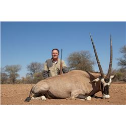 7 DAY SOUTH AFRICAN PLAINS GAME HUNT FOR 2 HUNTERS AND 2 OBSERVERS