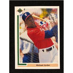 1991 UPPER DECK MICHAEL JORDAN BASEBALL CARD