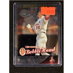 2001 Donruss Class of 2001 Bobble Head Cards #4 Mark McGwire