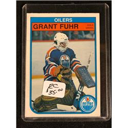 1982 O-Pee-Chee #105 Grant Fuhr Rookie Card
