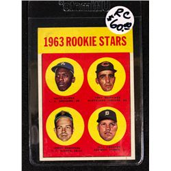 1963 TOPPS #466 OLIVIER/MARTINEZ/ROBINSON/BILL FREEHAN ROOKIE STARS