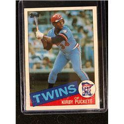 1985 Topps Set Break #536 Kirby Puckett RC