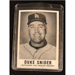 1960 Leaf Set Break #37 Duke Snider