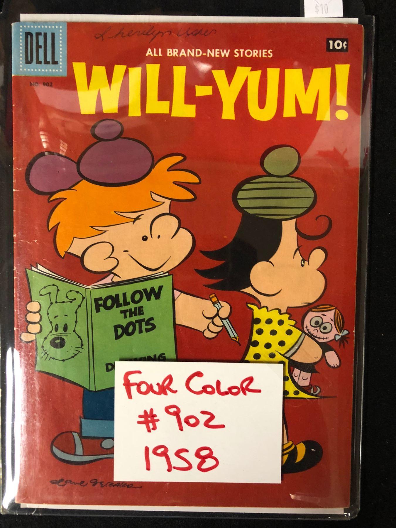1958 WILL-YUM! #902 (DELL COMICS) -FOUR COLOR-