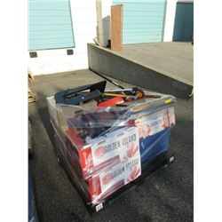 Skid of Assorted Tools & Household Goods
