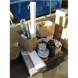 Skid of Assorted Flooring Materials