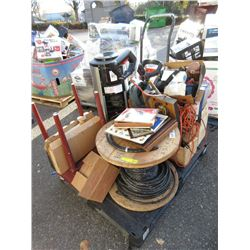 Skid of Assorted Household & Other Goods
