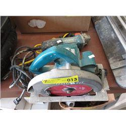 Makita Circular saw & Angle Grinder