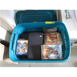 Large Tote of  DVD Movies