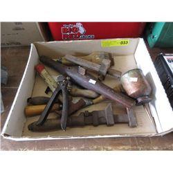 Box of Vintage Tools