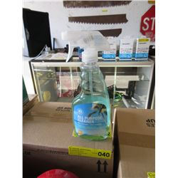 Case of All Purpose Glass Cleaner