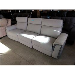 New 9 Foot Power Reclining Sofa