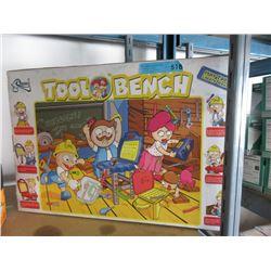 Pegolt Tool Bench Toy