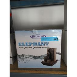 New Relaxus Elephant Water Fountain