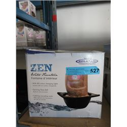 New Relaxus LED Zen Water Fountain