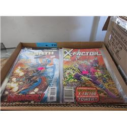 70+ Assorted Comic Books