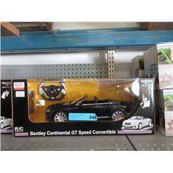 New R/C 1:12 Scale Bentley Convertible