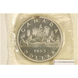 1965 CANADA SILVER DOLLAR BU