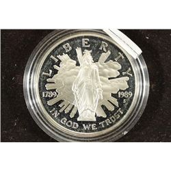 1989-S US CONGRESS PROOF SILVER DOLLAR