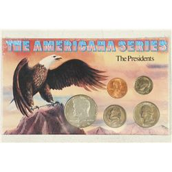 """AMERICANA SERIES """"THE PRESIDENTS"""" ALL UNC"""