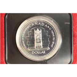 1977 CANADA SILVER JUBILEE SILVER DOLLAR PROOF