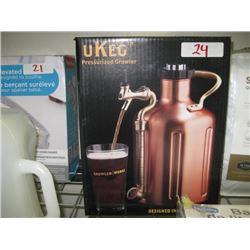 UKEG Pressurized Growler