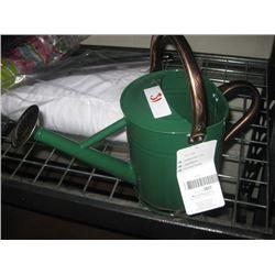 Green Metal Watering Can (DENTED)