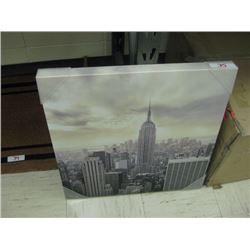 Skyline Canvas Photo