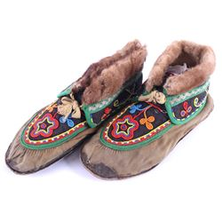 Tlingit Northwest Pacific Coast Moccasins