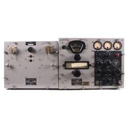 US Navy WW2 Era Radio Receiver & Power Unit