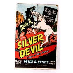 """Astor Pictures """"Silver Devil"""" Film Poster 1931"""