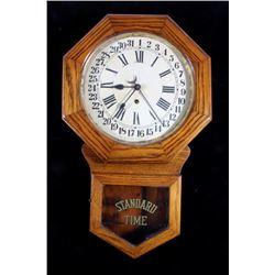 Antique Brandon Eight Day Arthur Pequegnat Clock