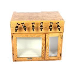 Oak Winekeeper Refrigerated Wine Dispenser