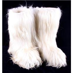 Genuine Italian DalBello Mountain Goat Fur Boots