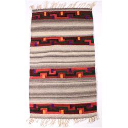 Zapotec Native American Dyed Wool Rug