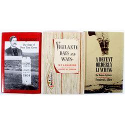 Book Collection: Montana Vigilante History