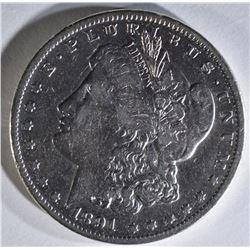 1891-CC MORGAN DOLLAR,